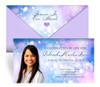 Sparkler Envelope Fold Funeral Program Design & Print (Pack of 25)