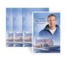 Military Navy Funeral Prayer Card Design & Print (Pack of 25)