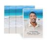 Caribbean Funeral Prayer Card Design & Print (Pack of 25)