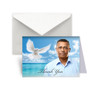 Peaceful Waters Funeral Thank You Card Design & Print (Pack of 25)