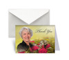 Bouquet Funeral Thank You Card Design & Print (Pack of 25)