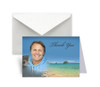 Tropical Funeral Thank You Card Design & Print (Pack of 25)