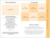 Floral Tabloid 8-Sided Graduated Program Template inside view 2