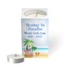 Personalized Mini Memorial Tea Light Candle Holder - Beach Life