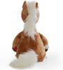 Pony Horse Memorial Stuffed Animal/Urn back view