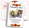 Desire Funeral Booklet Template (Tabloid Size)