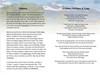 Outdoor Funeral Program Template inside view