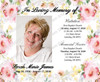 Alyssa Social Media Funeral Announcement Templates