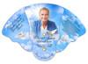 Doves Memorial Custom Folding Hand Held Fan