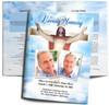 Assurance Funeral Program Template inside view