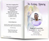 Halo Funeral Program Template