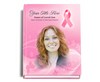 Awareness Perfect Bind 8x10 Funeral Guest Book with photo