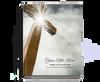 Eternal Perfect Bind Memorial Funeral Guest Book 8x10