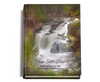 Graceful Perfect Bind Memorial Funeral Guest Book 8x10