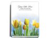 Inspire Perfect Bind Funeral Guest Book 8x10