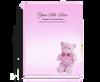 NurseryGirl Perfect Bind Funeral Guest Book 8x10