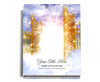 Pathway Perfect Bind Funeral Guest Book 8x10