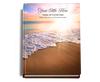 Radiance Perfect Bind Memorial Funeral Guest Book 8x10