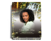 Serene Perfect Bind Memorial Funeral Guest Book 8x10 with photo