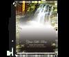 Serene Perfect Bind Memorial Funeral Guest Book 8x10