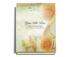 Rejoice Perfect Bind Memorial Funeral Guest Book 8x10