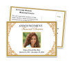 Tribute Funeral Announcement Template