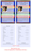 Acapulco Half Sheet Funeral Flyer Template inside view