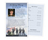 Army Half Sheet Funeral Flyer Template