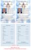 Assurance Half Sheet Funeral Flyer Template inside view