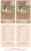 Baseball Funeral Flyer Half Sheets Template inside view