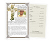Bethany Funeral Flyer Half Sheets Template
