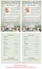 Bridge Funeral Flyer Half Sheets Template inside view