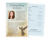 Celestial Funeral Flyer Half Sheets Template