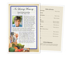 Chef Funeral Flyer Half Sheets Template