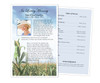 Cornfield Funeral Flyer Half Sheets Template
