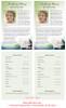 Divine Funeral Flyer Half Sheets Template
