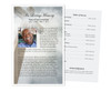 Eternal Funeral Flyer Half Sheets Template