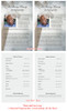 Eternal Funeral Flyer Half Sheets Template