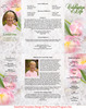 Pearls Gatefold Program Template inside view