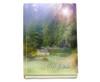 Serenity Perfect Bind Memorial Guest Registry Book 8x10