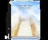 Stairway Perfect Bind Memorial Guest Registry Book 8x10