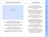 Butterfly 8-Side Graduated Funeral Program Template page 2