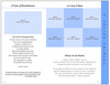 Destiny 8-Sided Graduated Funeral Program Template page 1