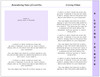 Glorify 8-Sided Graduated Funeral Program Template page 3