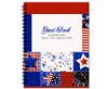 Americana Spiral Wire Bind Memorial Guest Book