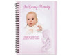 Angela Spiral Wire Bind Memorial Guest Book with photo