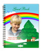 Delight Spiral Wire Bind Memorial Guest Book Registry with photo