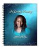 Devotion Spiral Wire Bind Memorial Guest Book Registry with photo