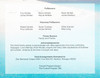 Caribbean Bottom Graduated Funeral Template  back view