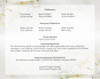 Lily 8-Sided Bottom Fold Graduated Program Template back cover